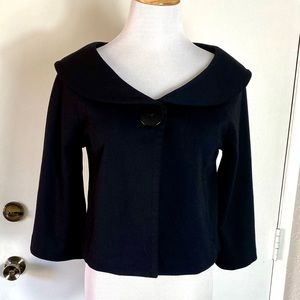 Newport News Cropped Cape Jacket